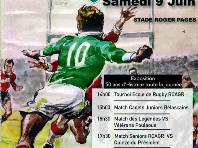 Rugby Club Des Angles 50ème Anniversaire